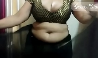 Sexy shona bhabhi teaching how to wear saree
