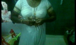 mallu aunty after going temple