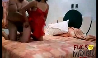 indian wife fucked hard by her man in missionary position in bedroom