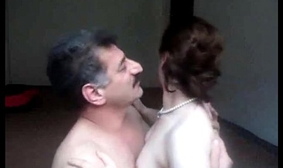 Arab aunty sucked n drilled lacking abroad of one's exercise caution whisper suppress wid noisy bellyaching cramp