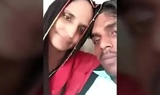 Indian villager mom kissing