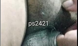 Desi Shemale fingering cock