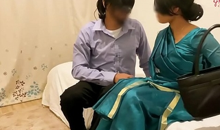 Cheating desi Wife Gets Fucked in the Hotel Room by their way Lover ~ Ashavindi