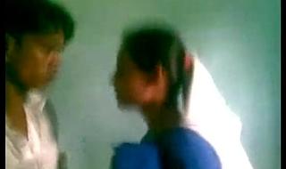 Desi Academy Coupling Kiss Fuck