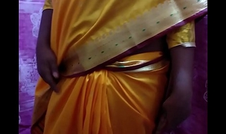 Desi Hawt Girl Showing Her Assets Stripping In Saree