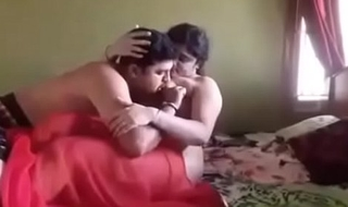 desi bhabhi fuck in red hot saree by teacher